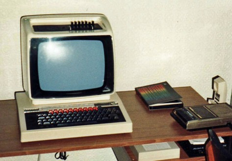 The editor's first BBC Micro and Pace Nightingale modem during his days co-editing Atari ST zone '16/32' on Micronet 800