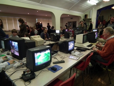 2010 RCM Gaming Event at Swannington - picture courtesy Retro Computer Museum