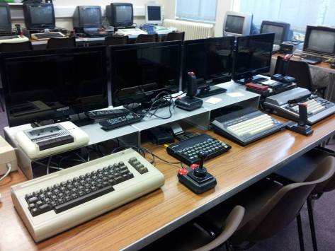 A tiny fraction of the collections at Leicester - picture courtesy the Retro Computer Museum
