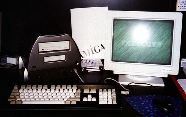 Amiga Walker -presumed at Cebit, 1996