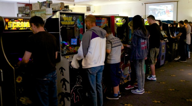 Arcade days all over again at REVIVAL 2014!