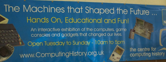 Centre for Computing History Banner