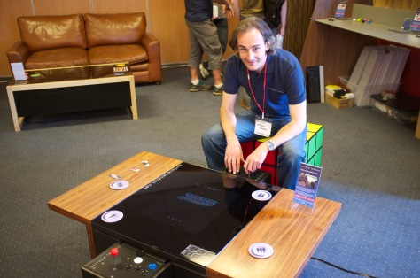 Surface Tension create modern furniture with built-in arcade games