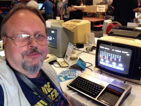 Yours truly meets an old friend thanks to The Centre for Computing History