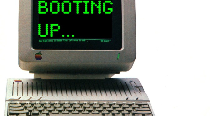 Booting up…