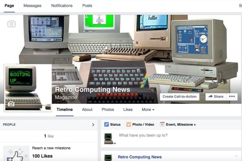 Retro Computing News new Facebook page