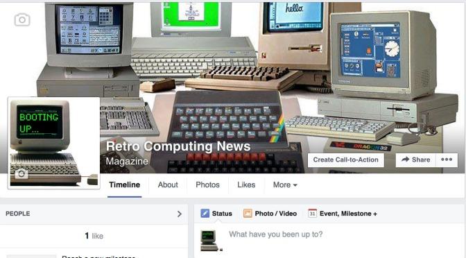 Retro Computing News new Facebook page