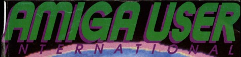 Amiga User International masthead June 1988