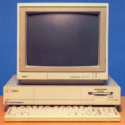 The Amiga A1000 (pic Amiga User International)