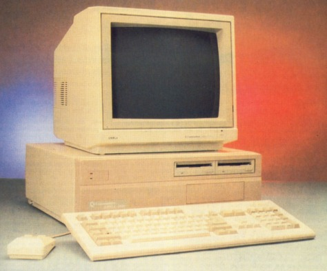 The Amiga A2000 (pic Amiga User International)