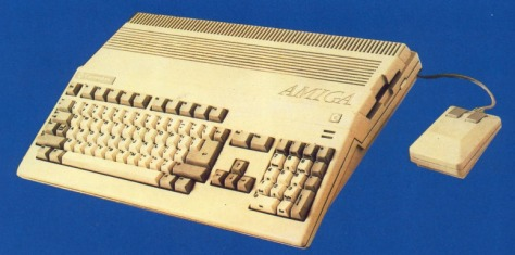 The Amiga A500 (pic Amiga User International)