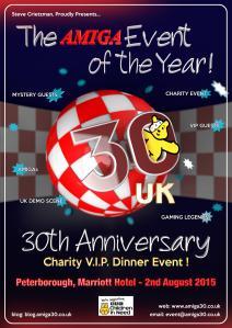 Amiga 30 UK handbill
