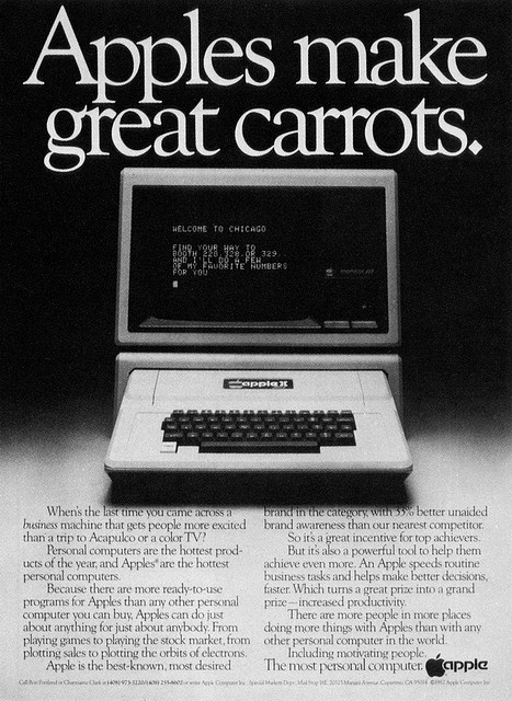 Apple II advertisement (Apple Computer)