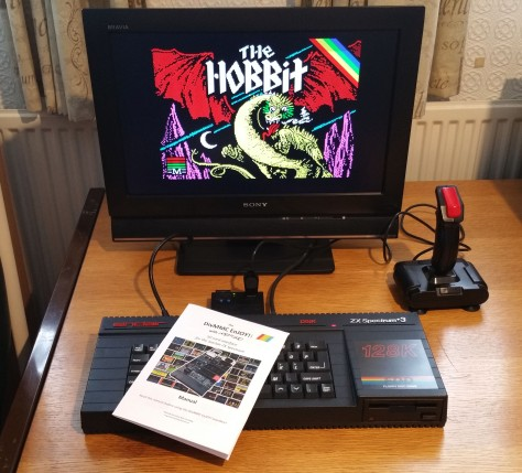 The DivMMC EnJOY! mates well with Retro Computing News editor Stuart Williams' Sinclair ZX Spectrum +3