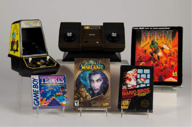 Latest entrants to the Video Game Hall of Fame at The Strong museum of play, NY (pic The Strong)