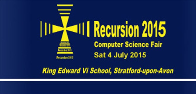 Visit Recursion 2015 this Saturday!