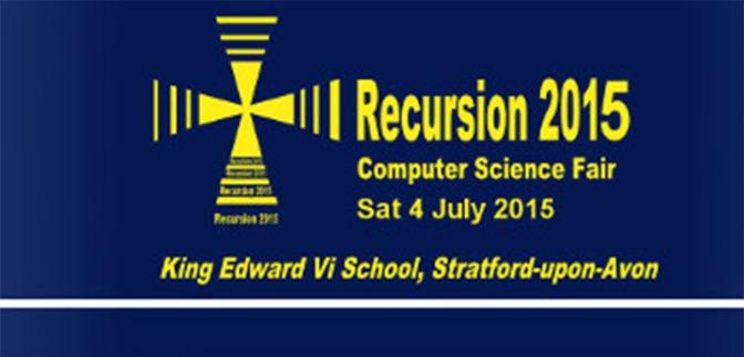 Visit Recursion 2015 this Saturday!