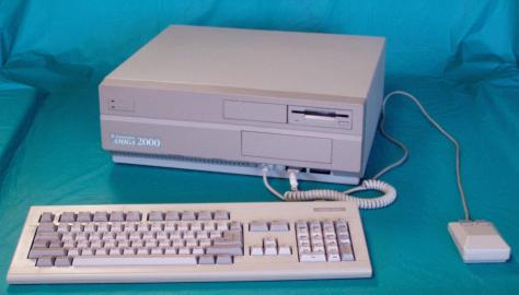 Amiga A2000 (pic Trafalgarcircle, Wikipedia)