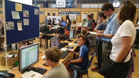 King Edward Vi School's Anroid App Inventor workshop