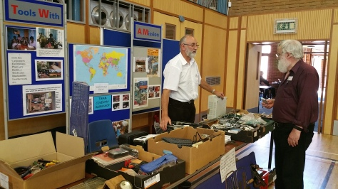 Tools With A Mission raise funds and carpentry equipment for African villages in need