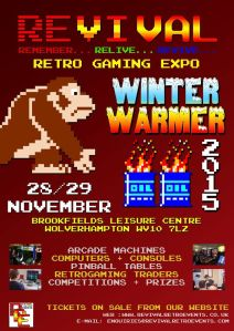 Revival Winter Warmer poster