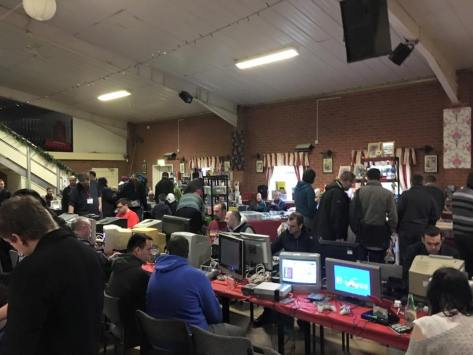 At ground level, gaming galore! (pic by Lee Mather)