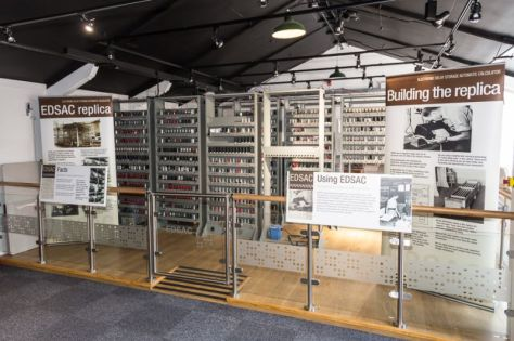 Latest stage of EDSAC at TNMOC (pic courtesy TNMOC)