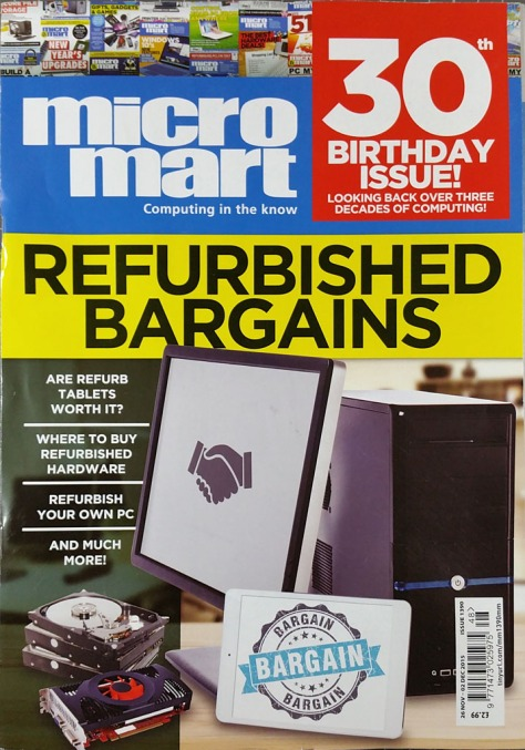 Micro Mart 30th Birthday issue