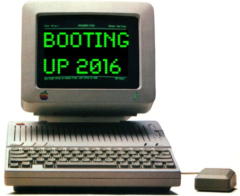 Booting Up 2016