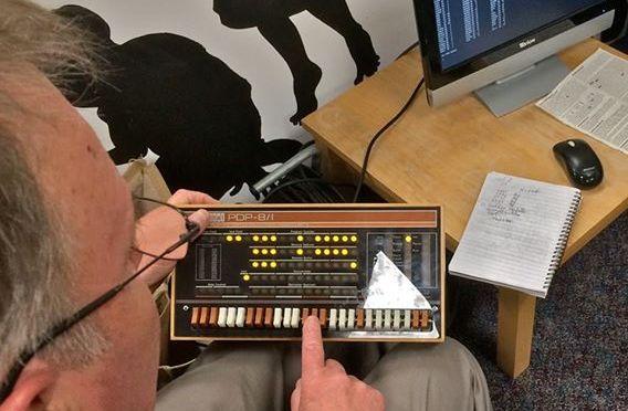 Raspberry Pi impersonates PDP-8 at Irish museum