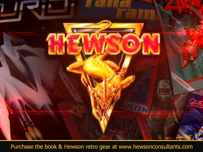 Hewson rides again as games fund winners announced!