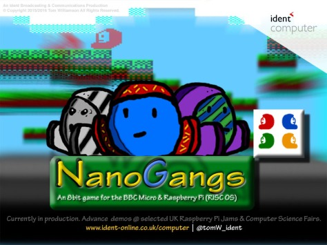 Nanogangs by Tom Williamson