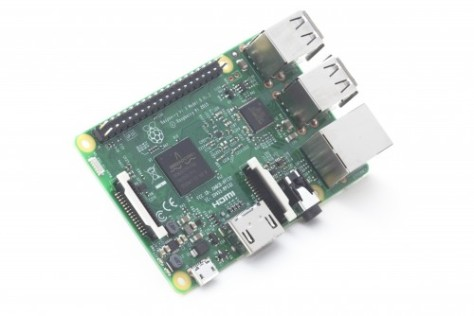 Raspberry Pi 3 Model B (pic Raspberry Pi Foundation)