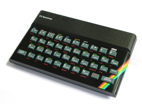 The classic 48k Spectrum computer of the 1980's (pic Wikipedia)