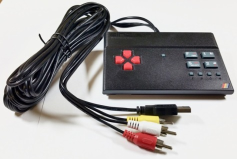 The Sinciar ZX Spectrum Vega showing the connecting cables