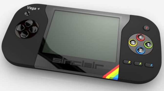 The ZX Spectrum Vega Plus console (pic Retro Computers Ltd)