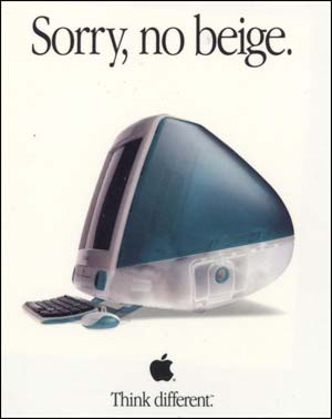 iMac G3 ad (Apple Computer Inc)