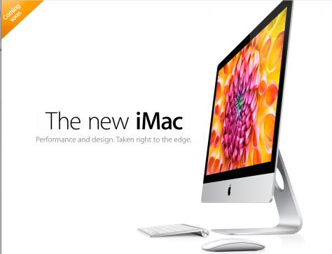 New generation iMac ad (Apple Inc)