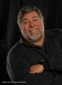 Steve Wozniak (pic Michael Bulbenko)