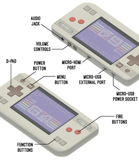 THE 64 handheld