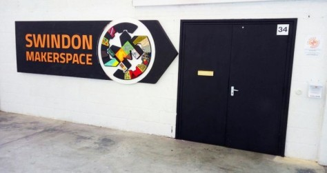 Entrance to Swindon Makerspace
