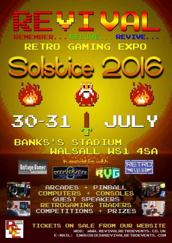 REVIVAL Solstice 2016 poster