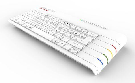 Spectrum Next concept rendered in white