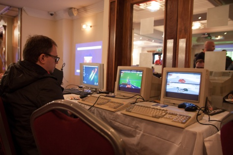 Communing with the Amiga in Ireland [Pic Dermot O'Halloran]