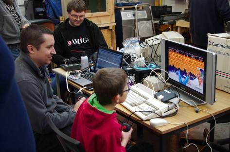 It's Game On! with SWAG at Swindon Makerspace [Pic Steve Netting]
