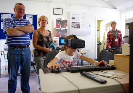 Virtual fun at TNMOC (Pic TNMOC)