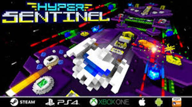Hewson's Hyper Sentinel is tons of retro fun on Kickstarter