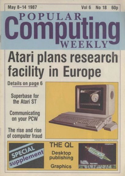Popular Computing Weekly, 8-14 May 1987