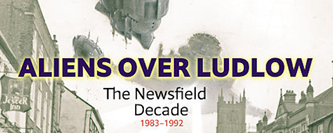Aliens over Ludlow – Newsfield invades the Buttercross!