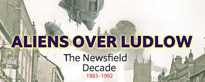 Aliens over Ludlow banner